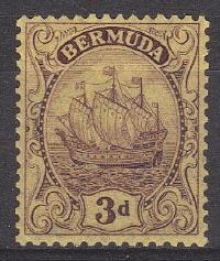 Bermuda SG84 1926 Definitive 3d unmounted mint